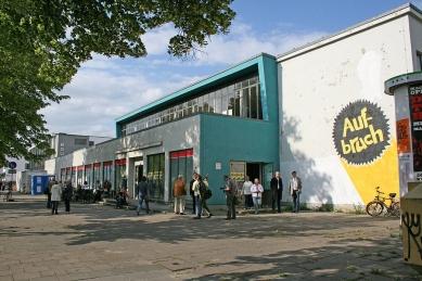 Přestavba Café am Bauhaus na knihovnu Bauhaus - Historický snímek - foto: Reiner Becker Architekten