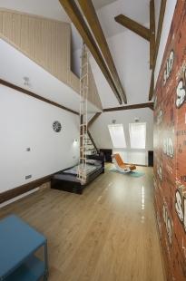Dětské pokoje v podkroví - foto: Jiří Ernest