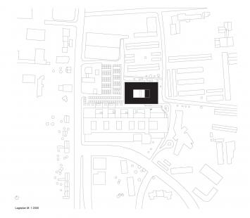Centrum technologie a designu - Situace - foto: © AllesWirdGut Architektur