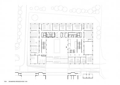 Centrum technologie a designu - 1. NP - foto: © AllesWirdGut Architektur