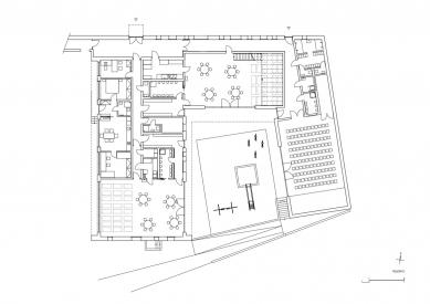 Rozšíření mateřské školky v Klecanech - Půdorys - foto: atelier25