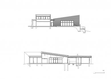 Rozšíření mateřské školky v Klecanech - Řezy - foto: atelier25