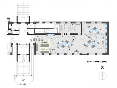 Muzeum sklářství – KAROLINKA - Schema expozice