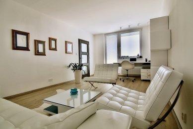 Interiér apartmánu a kanceláře v Brně
