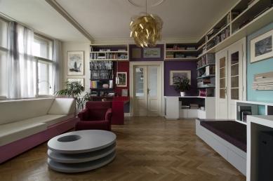 Interiér bytu - foto: AI photography, Aulík Fišer architekti