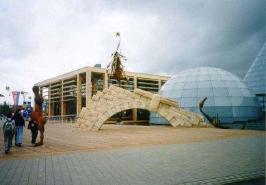 EXPO 2000 - Dánsko - Dánský pavilon - foto: Jan Kratochvíl, 2000