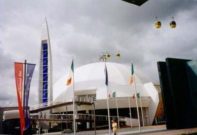 EXPO 2000 - Itálie - Italský pavilon - foto: Jan Kratochvíl, 2000