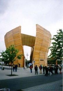 EXPO 2000 - Maďarský pavilon - foto: Jan Kratochvíl, 2000