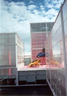 EXPO 2000 - Mexický pavilon - foto: Jan Kratochvíl, 2000