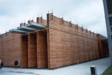 EXPO 2000 - Švýcarsko - Švýcarský pavilon - foto: Jan Kratochvíl, 2000