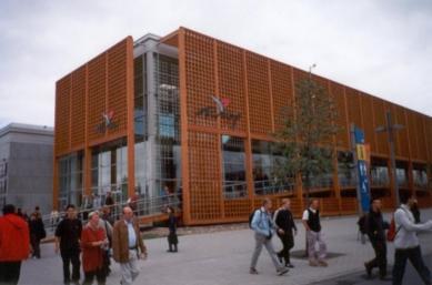 EXPO 2000 - Turecko - Turecký pavilon - foto: Jan Kratochvíl, 2000
