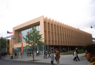 EXPO 2000 - Pavilon České republiky - foto: Jan Kratochvíl, 2000