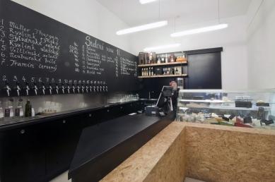 Vinotéka a sýrárna v Blansku - foto: Ing. arch. Jakub Caha