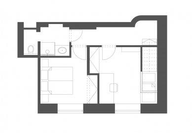 Mezonetový byt v Brně - 2. patro