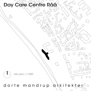 Mateřská škola Råå - Situace - foto: Dorte Mandrup Arkitekter