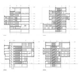 EA/WU Executive Academy  - Řezy - foto: NO.MAD Arquitectos