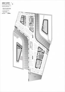 Knihovna a vzdělávací centrum Ekonomické univerzity - foto: Zaha Hadid Architects