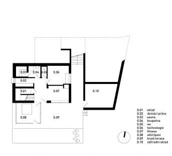 Rodinný dům Chýnice - 1PP