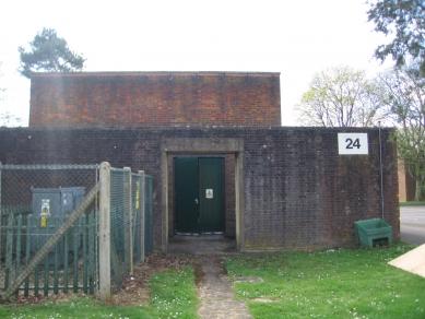 Letecká základna RAF Caversfield, Velká Británie - Původní stav