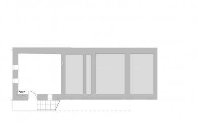 Přestavba bývalého obecního úřadu na rekreační bydlení - Sklep - foto: caraa
