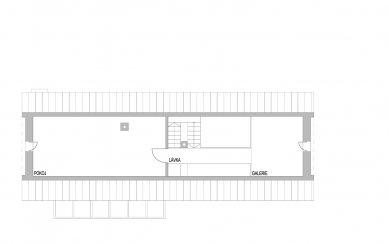 Přestavba bývalého obecního úřadu na rekreační bydlení - Podkroví - foto: caraa