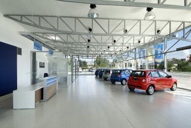 Provozní areál autosalonu Chevrolet - foto: Ester Havlová