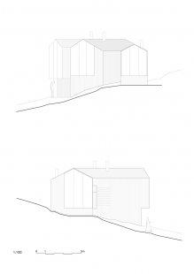 Horská chata s rozděleným výhledem - Pohledy - foto: Reiulf Ramstad Arkitekter