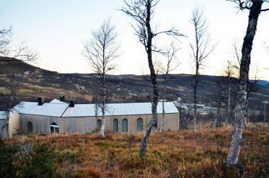 Horská chata s rozděleným výhledem - foto: Reiulf Ramstad Arkitekter