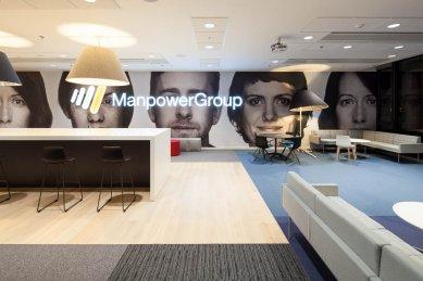 Interiéry společnosti ManpowerGroup