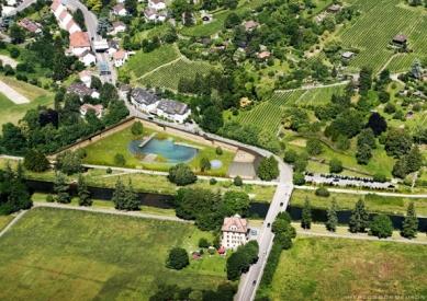 Přírodní koupaliště Riehen - Vizualizace - foto: Herzog & de Meuron