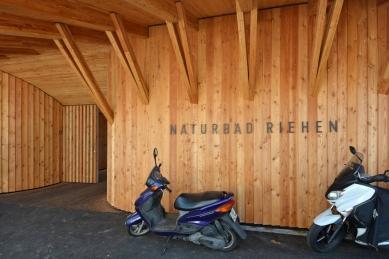Přírodní koupaliště Riehen - foto: Petr Šmídek, 2015