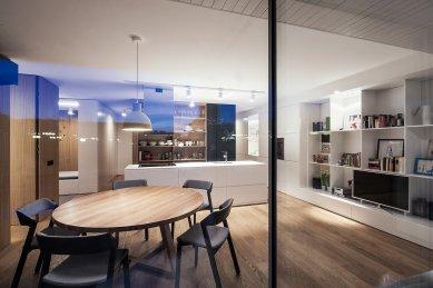 Byt Dlhé Diely - Obývací pokoj - foto: Lubomír Fussek