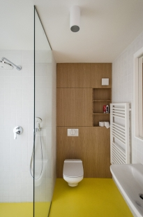 Byt Dlhé Diely - Koupelna - foto: Tomáš Krištek