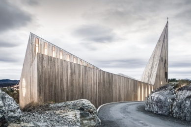 Kostel v Knarviku - foto: Hundven-Clements Photography