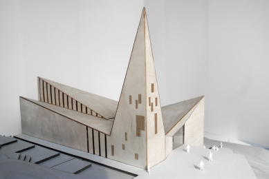 Kostel v Knarviku - Model