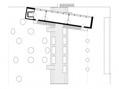 Sjakket Youth Club - Výkres střechy - foto: PLOT