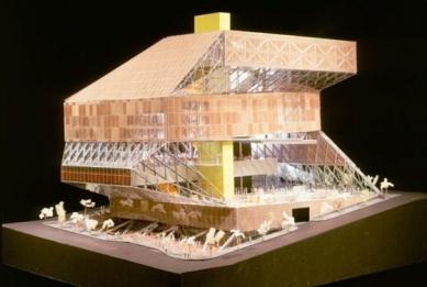 Seattle Public Library - Model - foto: © OMA/LMN, 1999