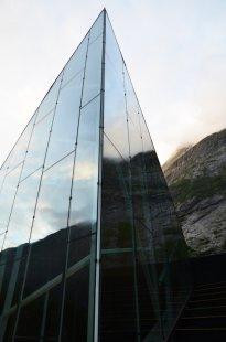 Návštěvnické centrum Stěny Trollů - foto: Reiulf Ramstad Arkitekter
