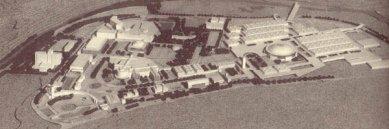 Brněnské výstaviště - Model návrhu z roku 1977 - Model návrhu z roku 1977