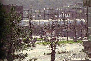 Brněnské výstaviště - Spojení pavilonů paserely, 1994 - 2000 - Spojení pavilonů paserely, 1994 - 2000