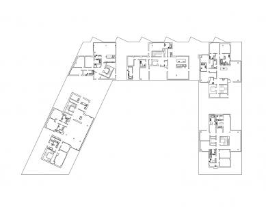 Rezidence Sacre Coeur II - Půdorys penthousů