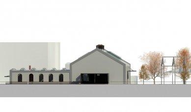 Rekonstrukce objektu kotelny v Železném Brodě - Severní pohled - foto: studio ARTIKL