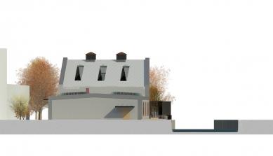 Rekonstrukce objektu kotelny v Železném Brodě - Východní pohled - foto: studio ARTIKL