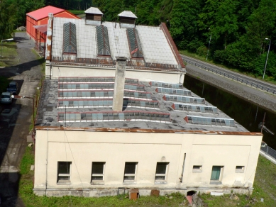 Rekonstrukce objektu kotelny v Železném Brodě - Fotografie původního stavu - foto: studio ARTIKL