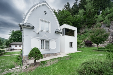 Nástavba rodinného domu v ulici Horská - foto: Ing. Petr Košťál
