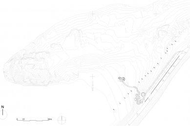 Selvika / národní turistická cesta - situace / site plan