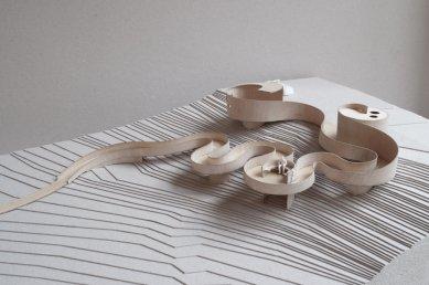 Selvika / národní turistická cesta - Model