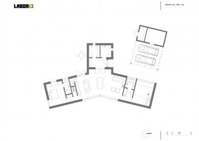 Rodinný dům v Pstruží - 1. NP