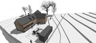 Rodinný dům v Pstruží - Vizualizace