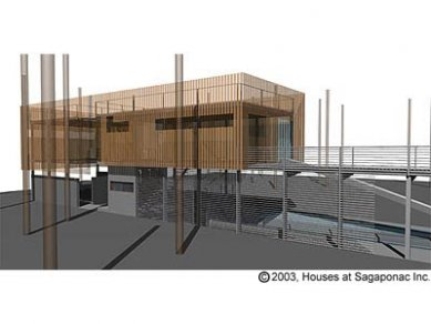 Sagaponac Houses - Michael Rotonodi & Clark Stevens